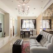 90平米房屋客厅背景墙