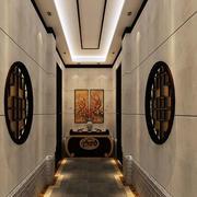 新中式走廊吊顶设计