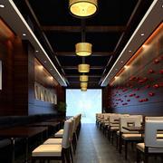 中式面馆桌椅设计