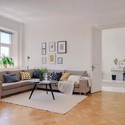 公寓简约沙发效果图