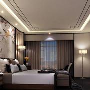 新中式卧室飘窗装饰