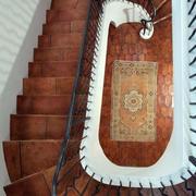 简约风格别墅旋转式楼梯