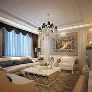 欧式别墅客厅奢华飘窗设计