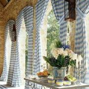别墅大型窗帘装饰设计
