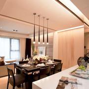 别墅简约风格餐厅设计