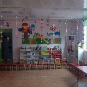 幼儿园卡通风格吊饰装修