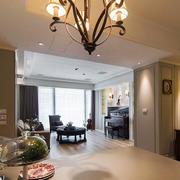 三室两厅美式灯饰装修