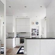公寓厨房吧台装修