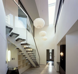 现代简约风格公装楼梯设计