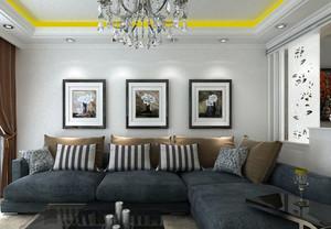 简约风格客厅沙发装修