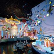 欧式梦幻游乐场背景墙