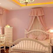 欧式公主风儿童房设计