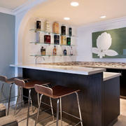 公寓后现代风格吧台装饰
