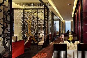 古色古香:中餐厅隔断装修效果图