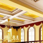 欧式大型别墅窗帘装修