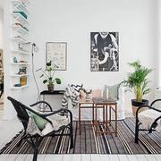 北欧风格客厅桌椅装修
