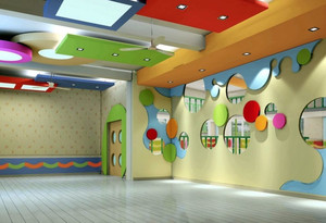 小学教室背景墙设计