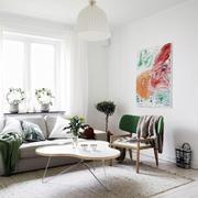 北欧风格客厅背景墙设计