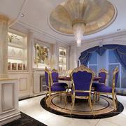 紫色婚房整体橱柜设计