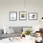 北欧风格沙发背景墙