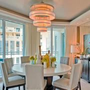 欧式客厅餐桌灯饰设计