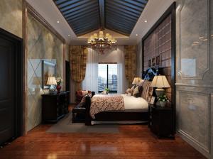 欧式卧室床头灯饰设计