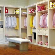 别墅整体衣柜效果图
