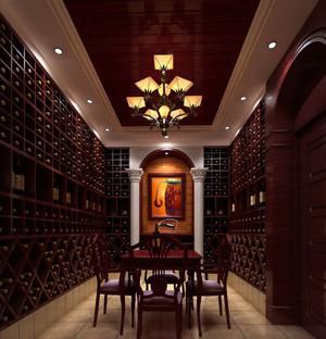 享受惬意生活:小别墅专配欧式奢华酒窖装修效果图