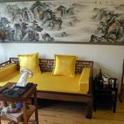 中式王府专用床饰装修