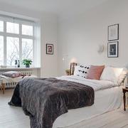 三室两厅卧室床头背景墙设计