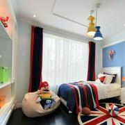 美式儿童房懒人沙发