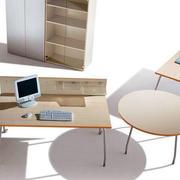 简约木制文件柜设计