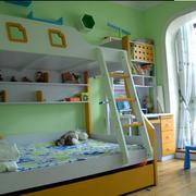 儿童房上下铺设计