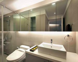 完美与精致的体现:大户型卫生间釉面砖装修效果图实例欣赏图集