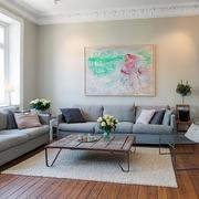 沙发背景墙图画装饰