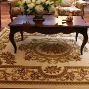 欧式别墅客厅地毯设计