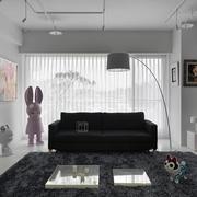 loft公寓皮制沙发装饰