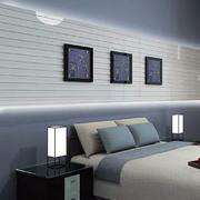 卧室床头灯装修背景墙图