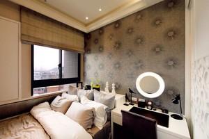 拉升空间视野的简欧风格110平米三室两厅装修效果图