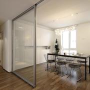 小户型客厅推拉门设计