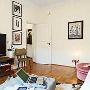 简约风格公寓置物架