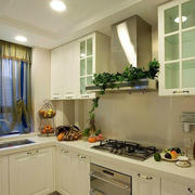欧式田园风格厨房