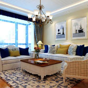 大型客厅窗帘设计