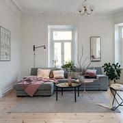 简约风格灰色地毯装修