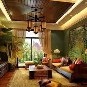 东南亚风格创意吊顶