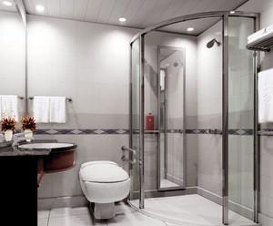 现代简约风格独立浴室