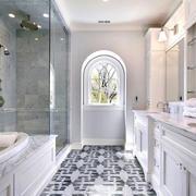 卫生间独立淋浴隔断