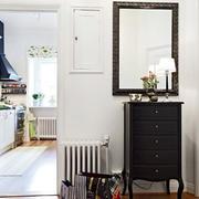 欧式风格公寓鞋柜设计