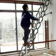 简约创意风格收缩楼梯