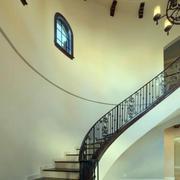 复式简约风格楼梯装饰
